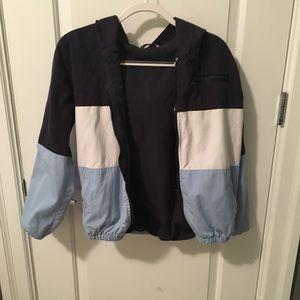 Brandy Melville blue three toned jacket